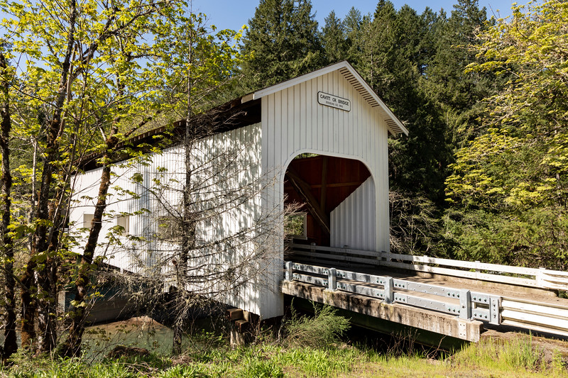 OR Cavitt Creek Covered Bridge