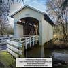 Stewart Covered Bridge near Cottage Grove, Oregon