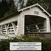 Sandy Creek covered bridge, Oregon