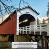 Currin Covered Bridge near Cottage Grove, Oregon