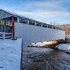Jackson's Mill Covered Bridge in winter. 1