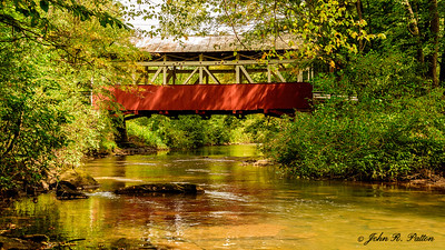 Beechdale, Burkholder  Covered Bridge 1