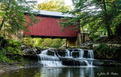 Packsaddle Covered Bridge