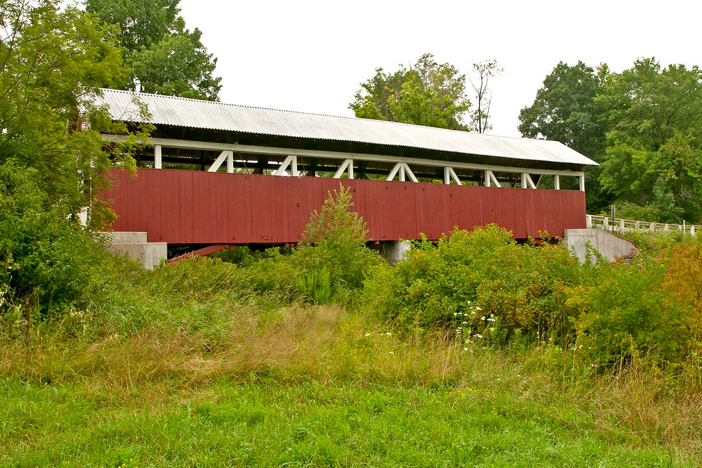 1881 Glessner Covered Bridge is located north of Shanksville in Somerset County PA.