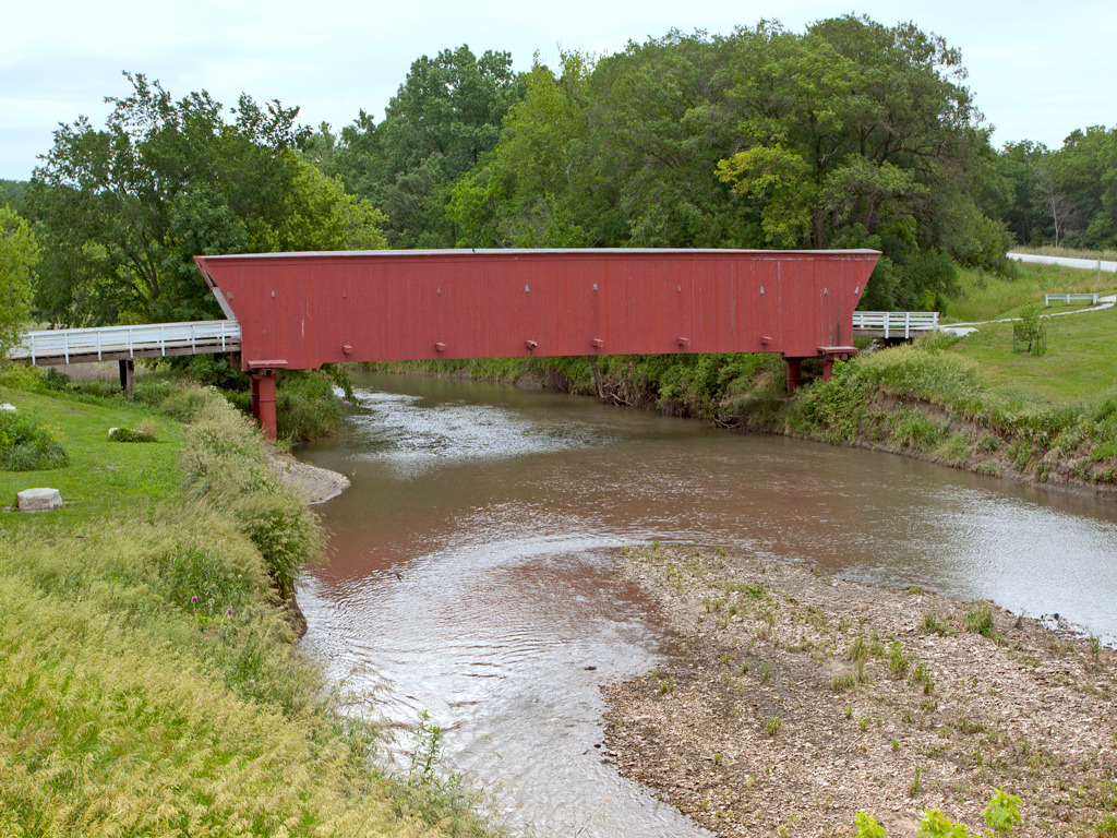 Hogback Covered Bridge, Madison County, IA  97 feet long