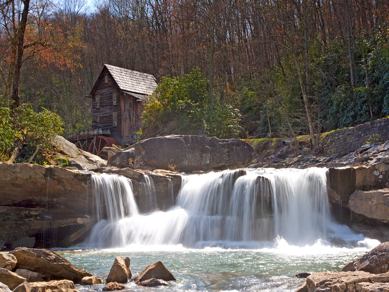 Glade Creek Grist Mill in West Virginia.