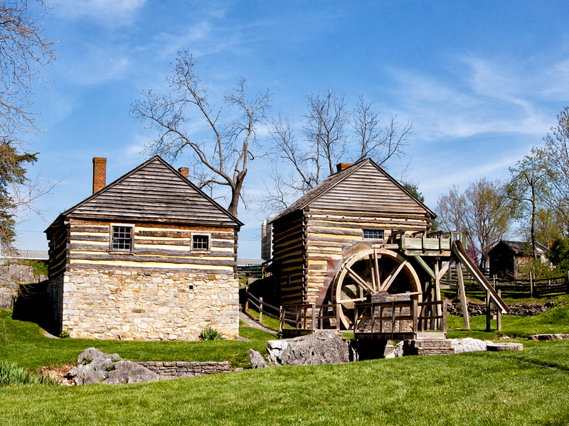 McCormick Gristmill in VA