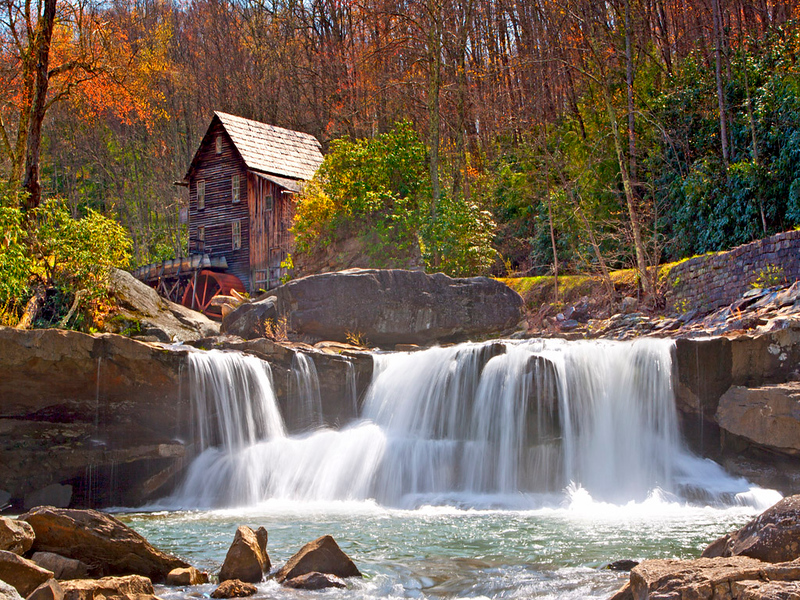 Glade Creek Grist Mill, West Virginia
