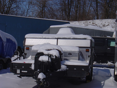My old E2 during the winter of 2006 when I did not have a cover.