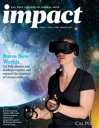 IMPACT MAGAZINE, Cal Poly College of Liberal Arts