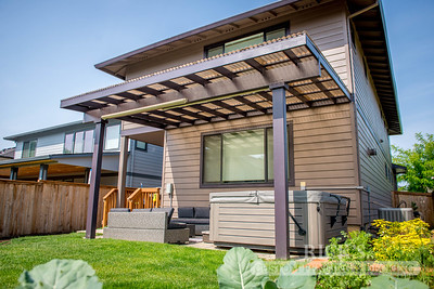 5009 - Wood-Framed Patio Cover with Acrylite Paneling