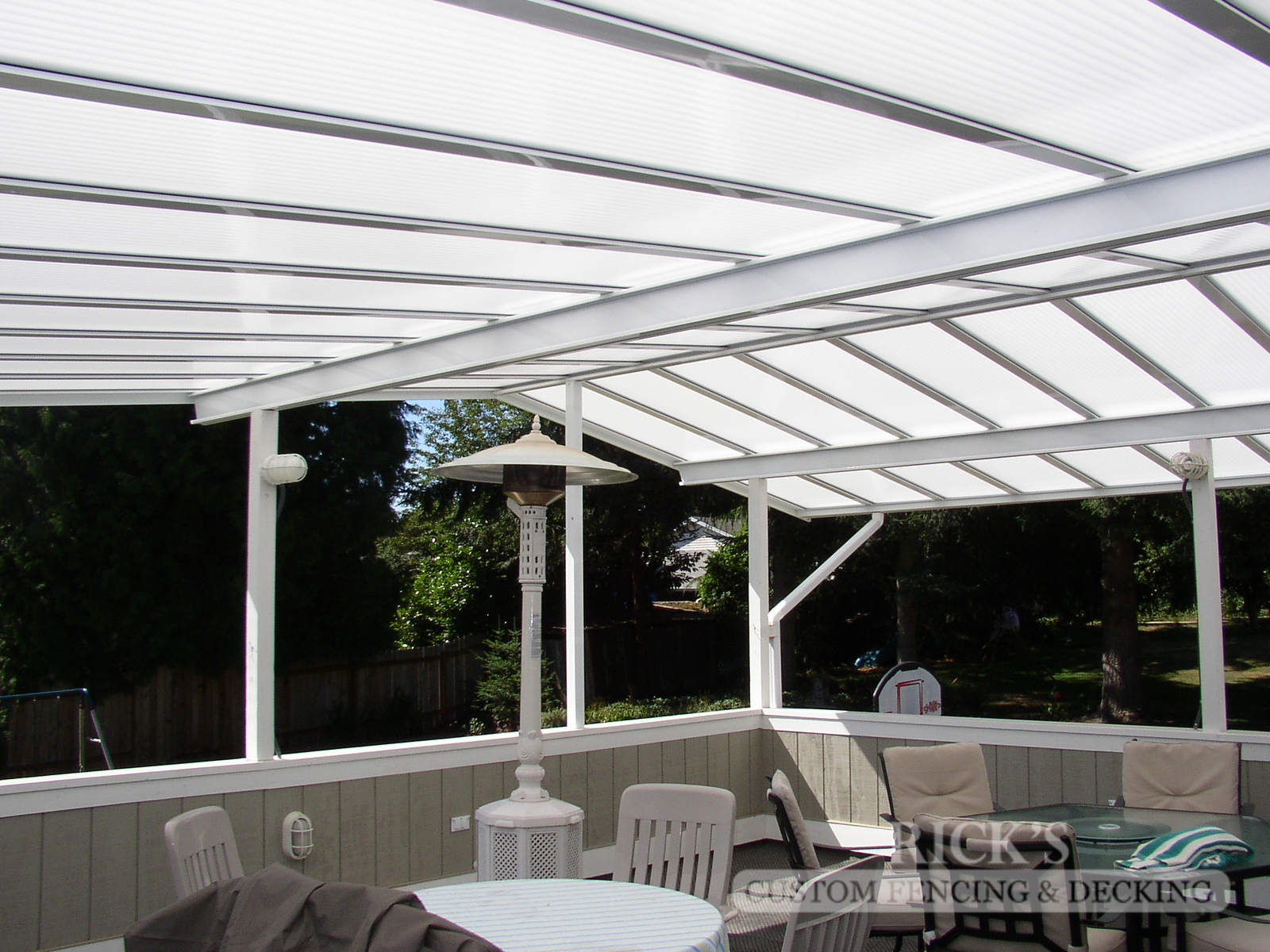 5050 - Acrylite Patio Cover