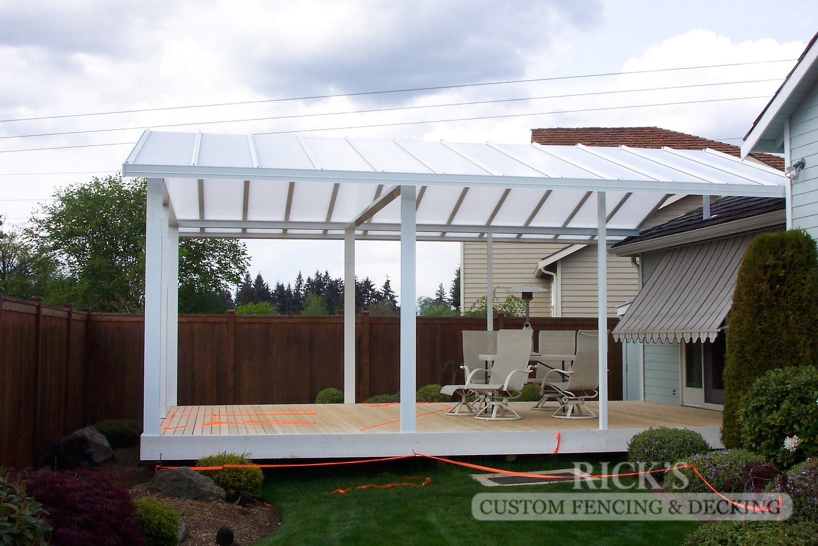 5053 - Acrylite Patio Cover