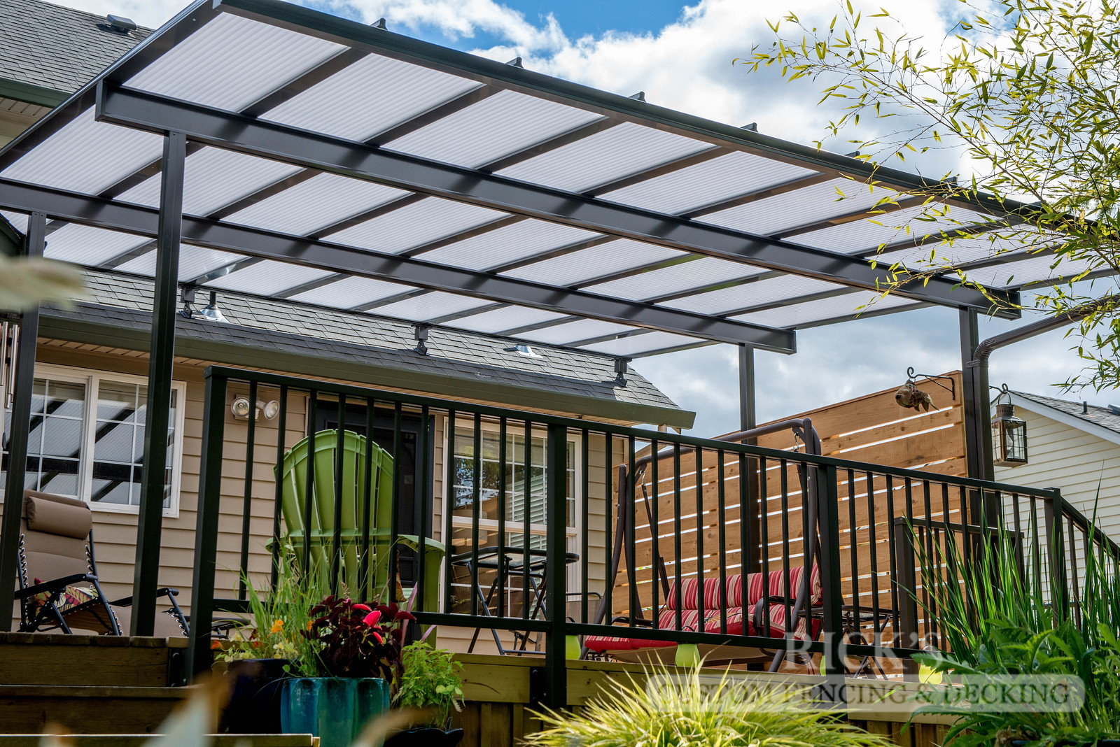 5040 - Acrylite Patio Cover