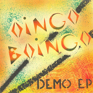 Hand painted cover, #8 of 130, of Oingo Boingo Demo EP.  produced, recorded, mixed and painted.