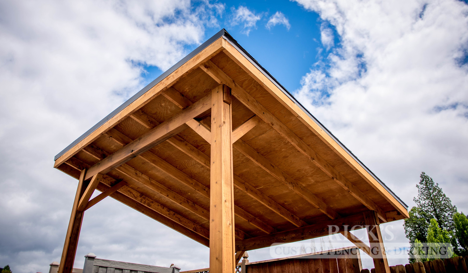 5162 - Wood-Framed Patio Cover