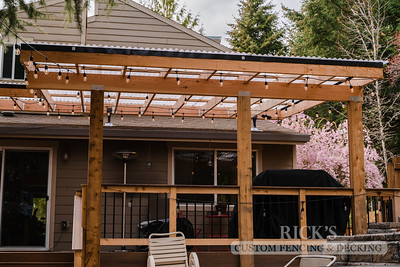 5499 - Wood-Framed Patio Cover with Acrylite Paneling
