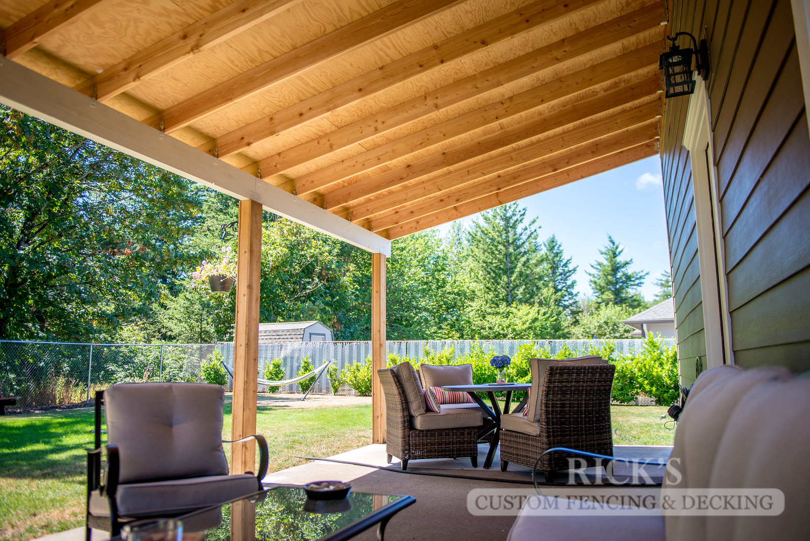 5107 - Wood-Framed Patio Cover