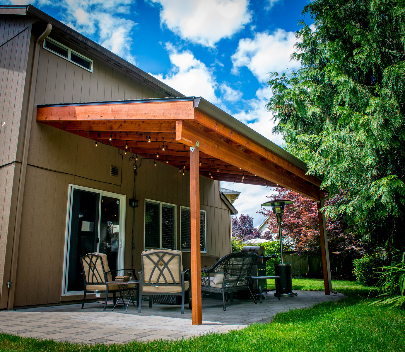 5103 - Wood-Framed Patio Cover