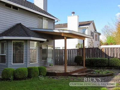 5149 - Wood-Framed Patio Cover