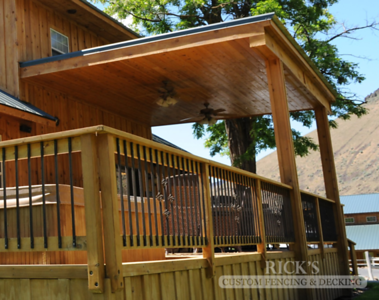 5110 - Wood-Framed Patio Cover