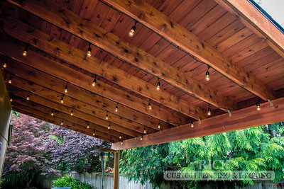 5102 - Wood-Framed Patio Cover