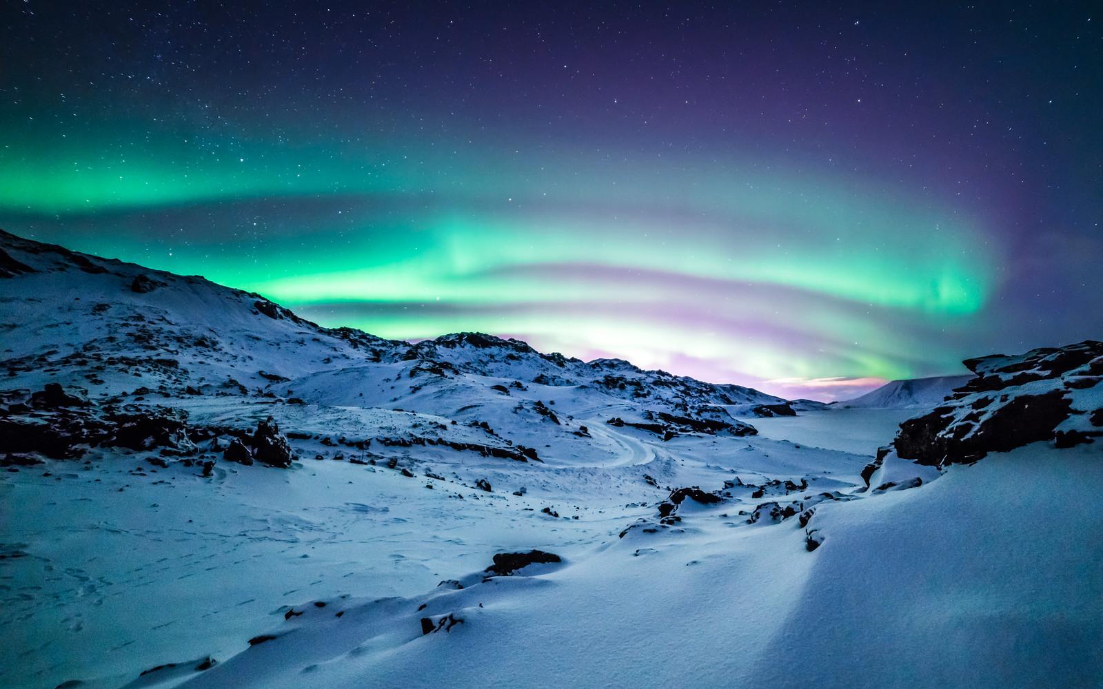 Aurora Borealis   Kleifarvatn