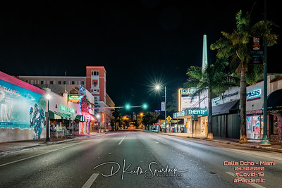 HDR_S1R0426-432 - Calle Ocho Tower Interection Calle OchoCopyright 2020 D  Keith Spurlock All Rights Reserved