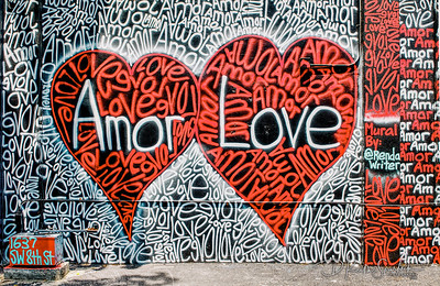 Futurama Amor Love Grafitti