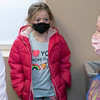 Anna Logiodice, 6, was with her mom Emergency Room Nurse Ellen Logiodice when she got the Covid-19 vaccine on Wednesday at UMass Memorial HealthAlliance - Clinton Hospital in Leominster. SENTINEL & ENTERPRISE/JOHN LOVE