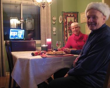 Historical Fitzgerald Christmas dinner