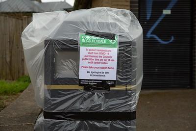 Todmorden during covid lockdown 2020