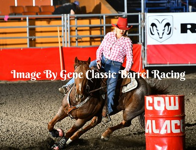 Cow Palace Classic Barrel Racing Open Draw 51-150  10/21/17