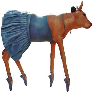 28 La Vaca Bailarina- Artista Arturo Camacho Briseño-Sponsor Grupo Lala