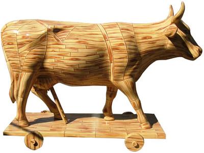 50 Vaca de Troya - Artista Karla Vicencio - Sponsor  Grupo Lala