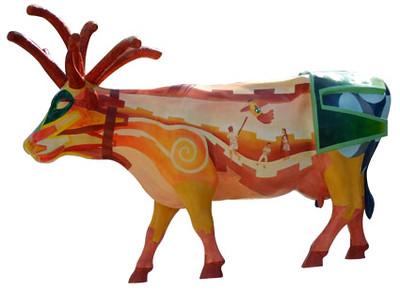 18  Vaca Piñata - Artista Gallet - Sponsor Pelon Pelo Rico