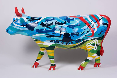 Wings and Wheels cow - Wings