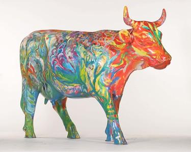 Pierwsza Krowa Ktor1 zobaczyli Adam i Ewa Po Wyjociu z Raj - 07