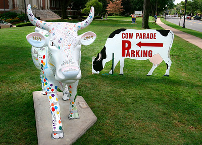 West Hartford - A Cow in Celebration - B - WH036