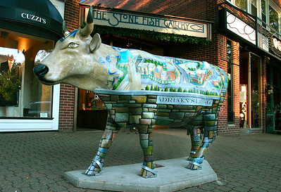 Vintage Adrian's Landing Cow - B - WH054