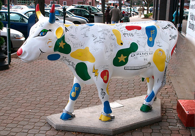 Clear Channel Concert Cow - A - WH039