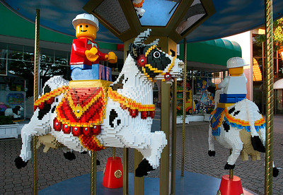 LEGO Cow-A-Sel of Imagination - B - WH003