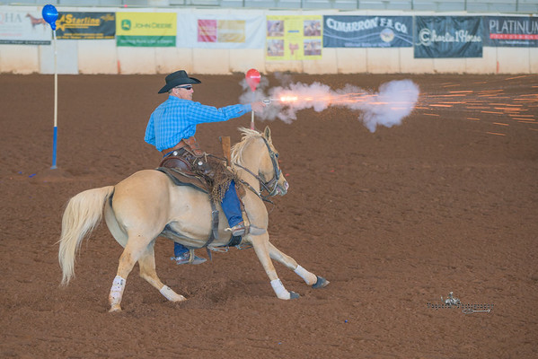Cowboy Mounted Shooting Association, Queen Creek AZ (18 February 2015)