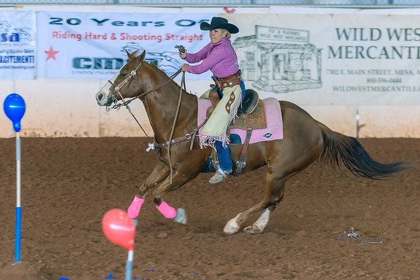 Cowboy Mounted Shooting Association, Queen Creek AZ (19 February 2015)