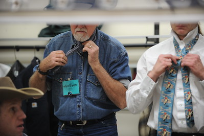 Scenes from the 26th annual National Cowboy Poetry Gathering, Elko, Nevada. January 29, 2010.