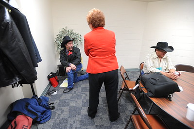 Scenes from the 26th annual National Cowboy Poetry Gathering, Elko, Nevada. January 28, 2010.