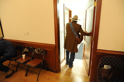 Michael Martin Murphy  performs at the 26th annual National Cowboy Poetry Gathering, Elko, Nevada. January 29, 2010.