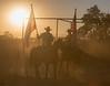 Ca  Rangeland TrustScott Austin Flag on Horses