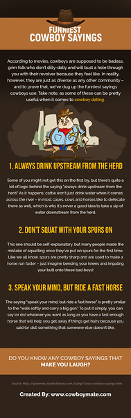 Funniest Cowboy Sayings