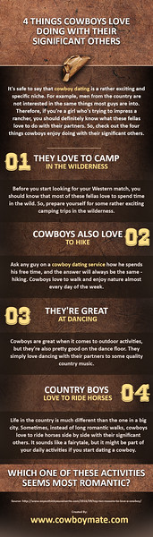 4 Things Cowboys Love Doing With Their Significant Others